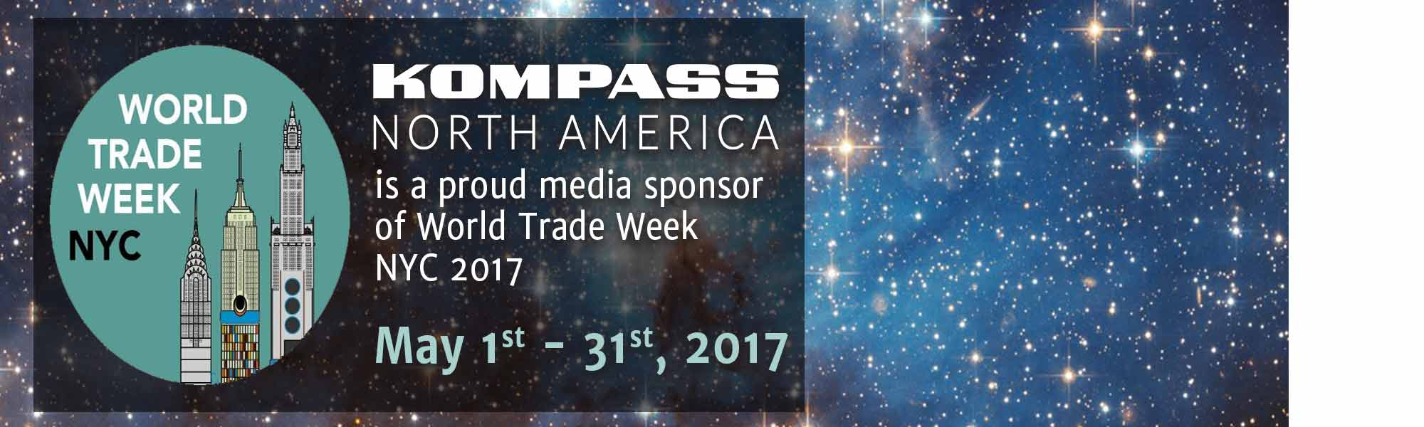 World Trade Week, World Trade Centers Association, Kompass North America