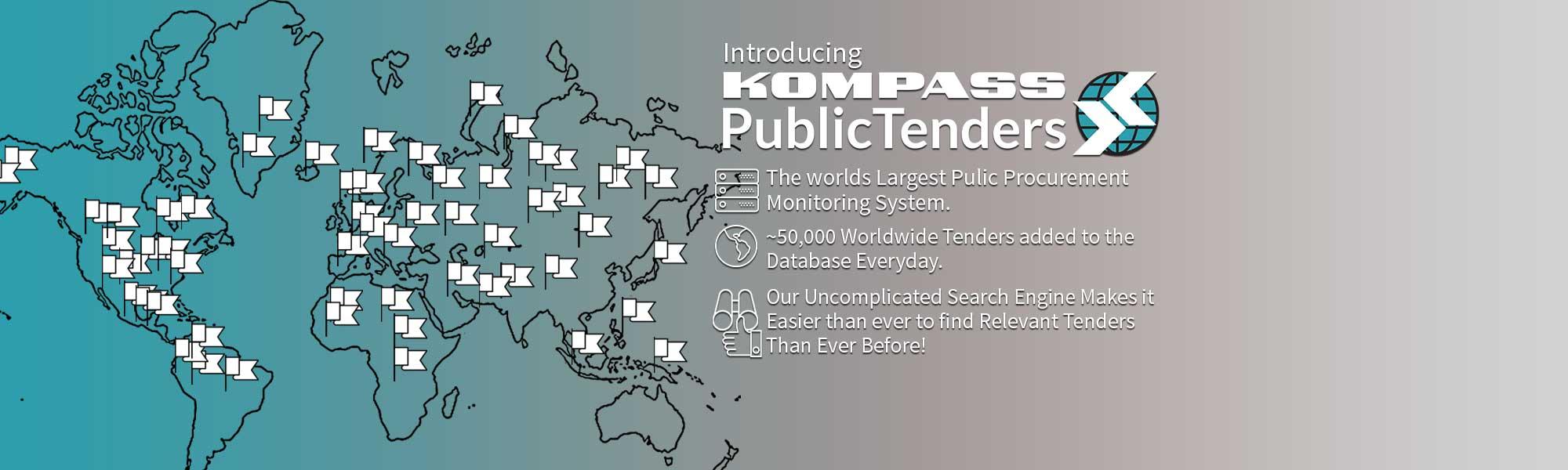 Kompass Public Tenders Banner